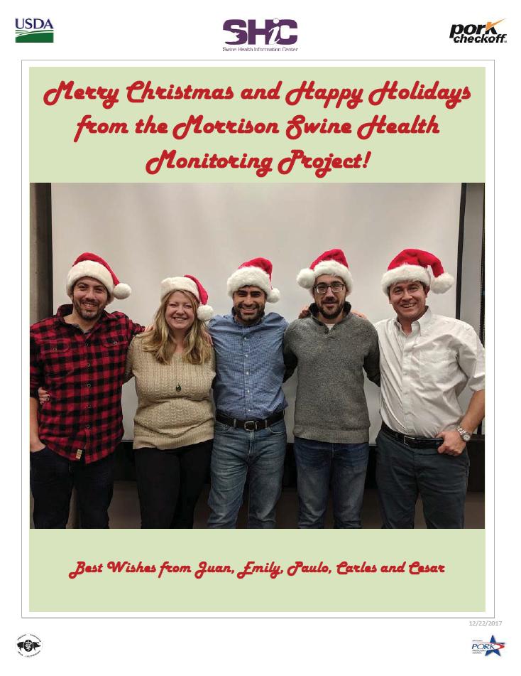 Christmas card MSHMP
